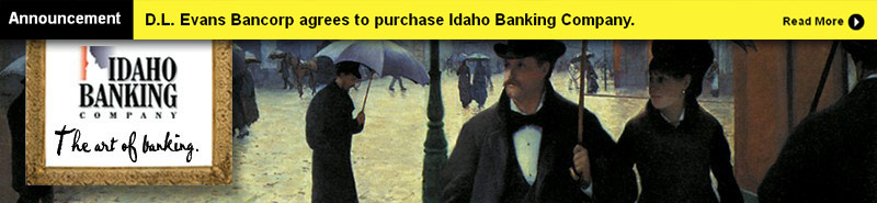 Idaho Banking Company - The Art of Banking